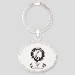 Badge-Wallace [Renfrew] Oval Keychain